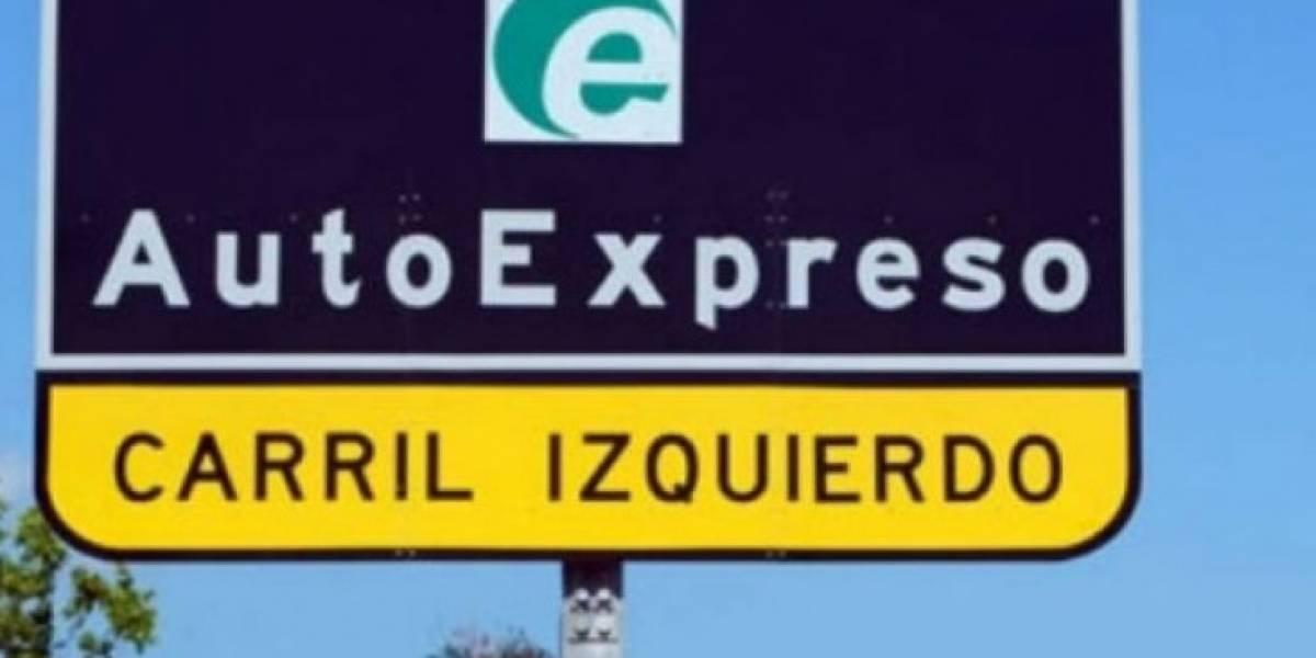 Presentan proyecto para reducir multa del AutoExpreso