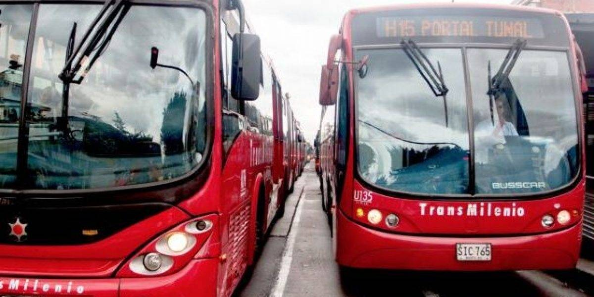Bloqueos en el sistema masivo de transporte TransMilenio