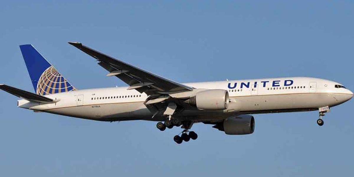 United Airlines despega por última vez desde Venezuela