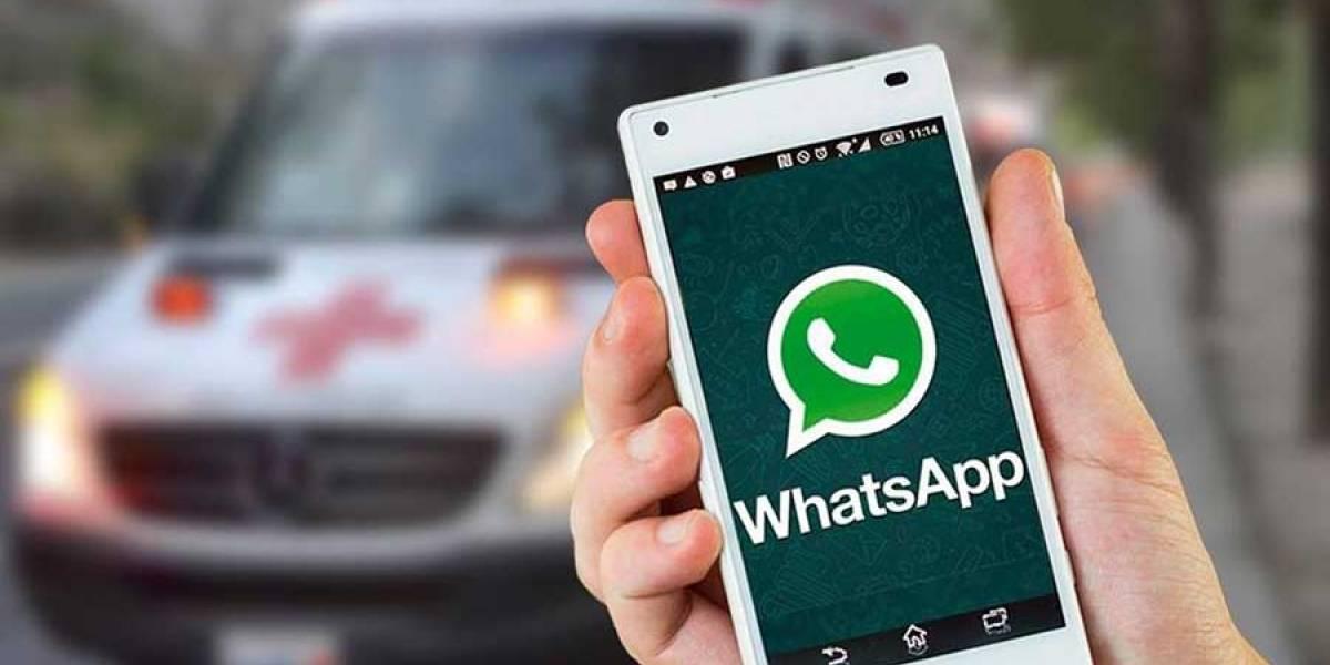 Cruz Roja Guatemalteca habilita número en WhatsApp para reportar emergencias las 24 horas