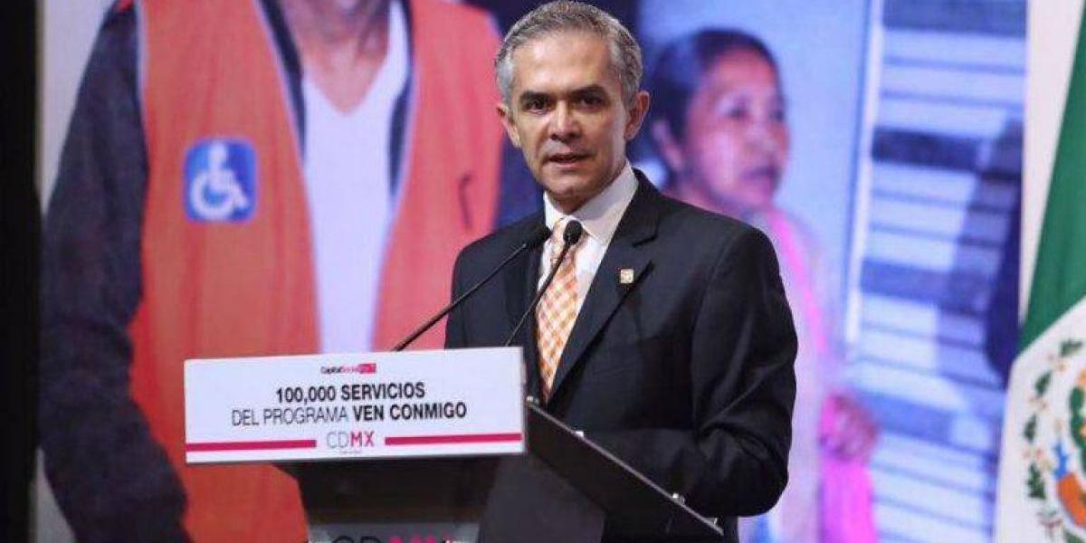 Proponen a Miguel Ángel Mancera como candidato de frente para 2018