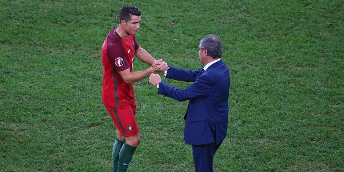 """Santos y la exclusión de Cristiano: """"Al no llegar a la final, entendimos que sería bueno para él estar con su familia"""""""
