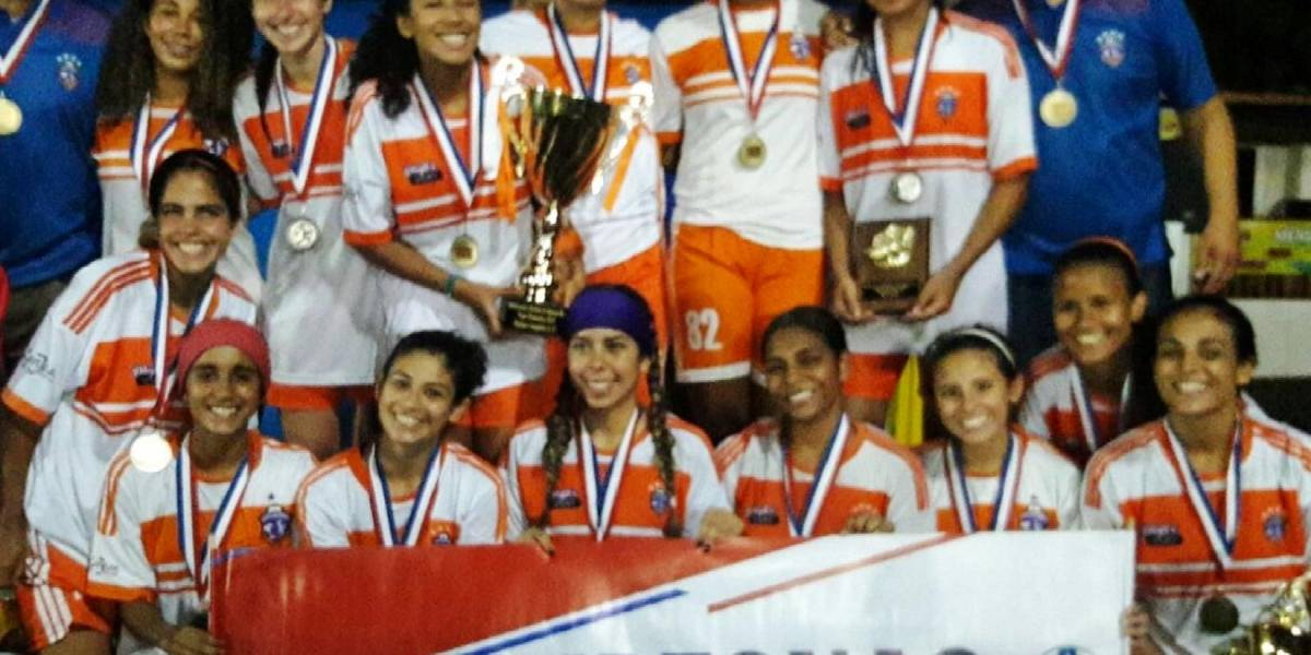 Challengers retienen la corona del fútbol sub20 femenino