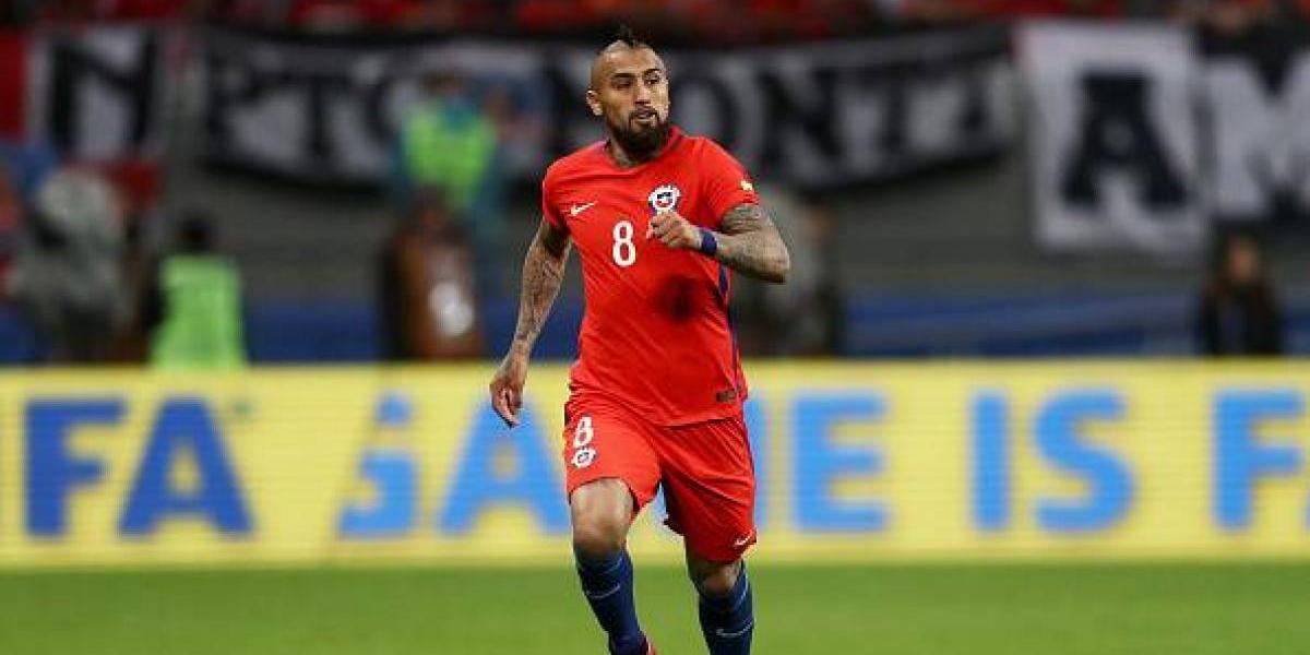 """Arturo Vidal golpea la mesa: """"Si le ganamos a Alemania, seremos la mejor selección del mundo"""""""