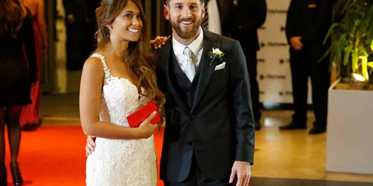 Los tatuajes que se hicieron Messi y Antonela Messi para la boda