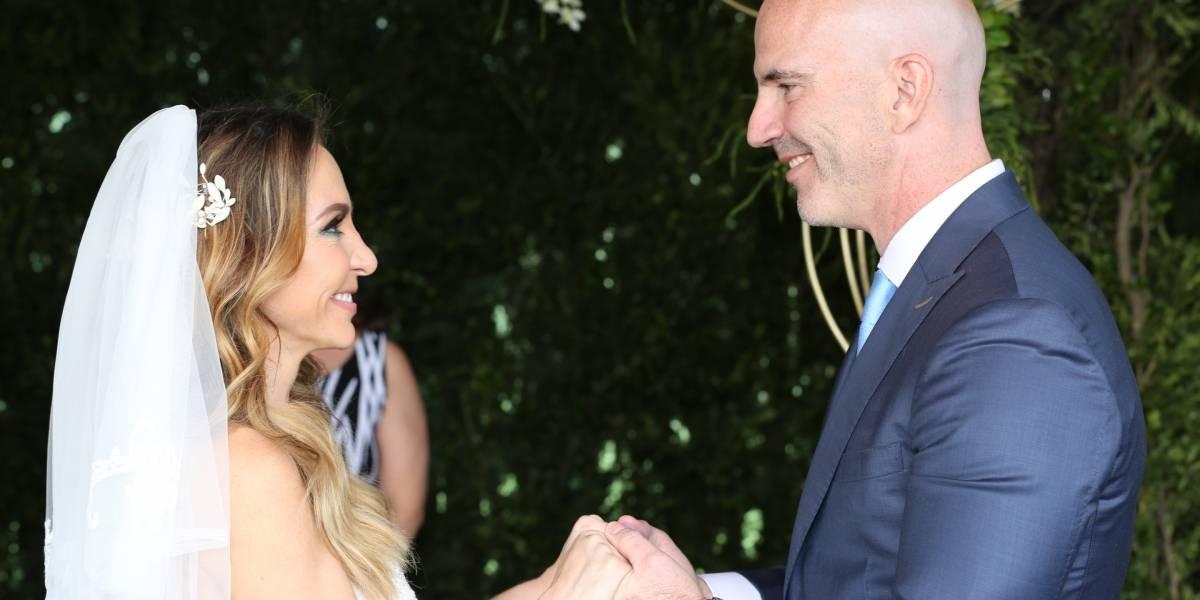 Erika Zaba tiene boda de ensueño con Francisco Oliveros