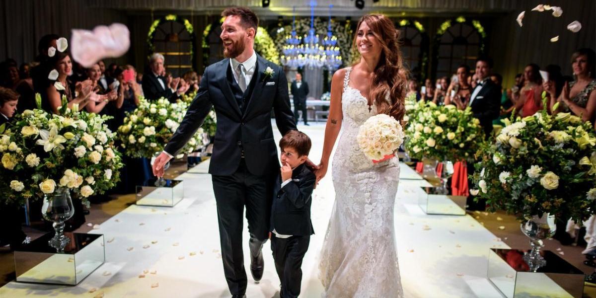 Antonela derrocha ternura con un romántico poema a Leo Messi