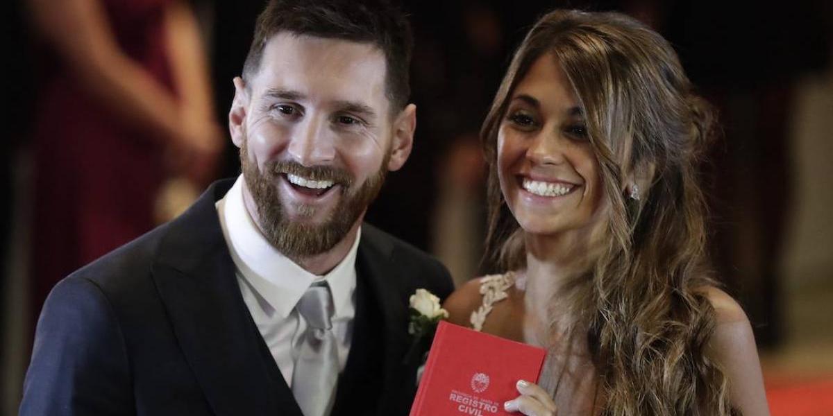 ¡Se descontroló! Se filtra el primer video de la boda de Messi y Antonela