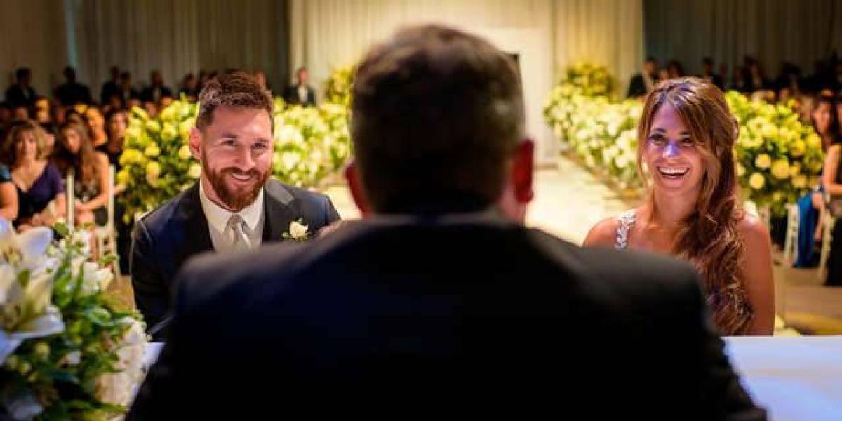 ¿Por qué Méssi se casó solo por el civil y no por la iglesia?