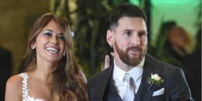 Messi no sólo domina el balón, también el baile