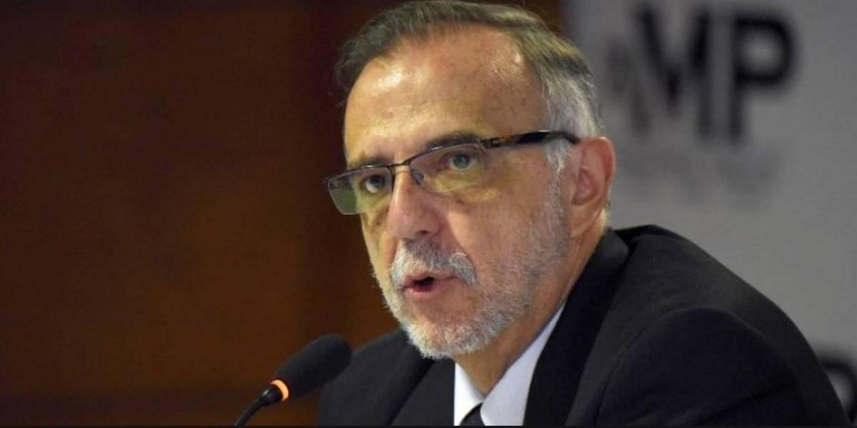 Ratifican a Iván Velásquez al frente de la CICIG hasta el 2019