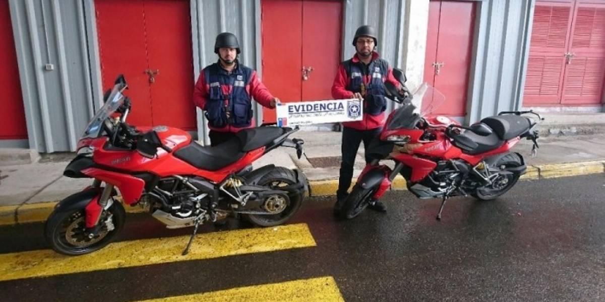 Concepción: Aduanas incauta cinco motocicletas de lujo avaluadas en más de $128 millones
