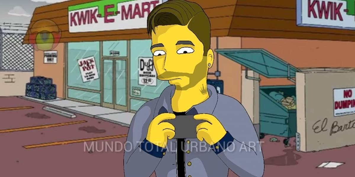 No, Maluma no aparecerá en Los Simpsons: El video viral que confundió a muchos