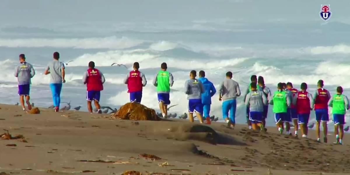 Preparación física y mental: Detalles de la aislada y fraterna pretemporada de la U en La Serena