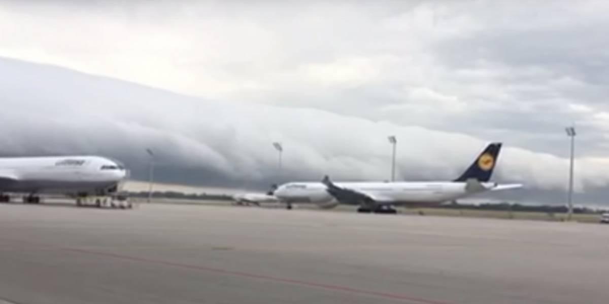 VIDEO. Enorme nube atemoriza a los ciudadanos de Alemania