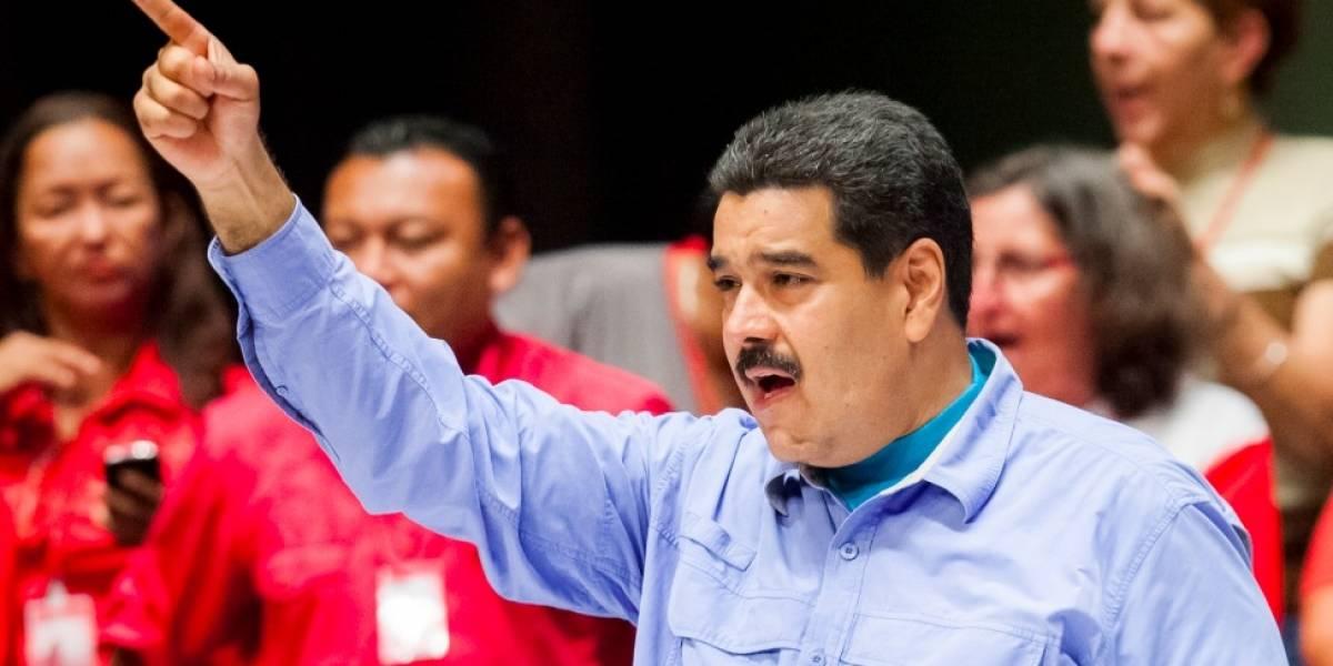 """Maduro llama """"entrometido"""" al presidente Juan Manuel Santos"""