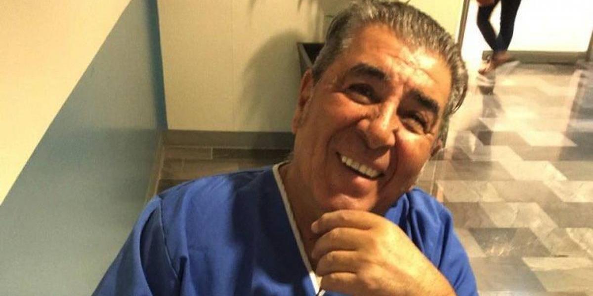 Carlos Reinoso muestra impactante herida de su rodilla