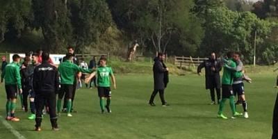 Santiago Wanderers fue categórico ante una UC con formación estelar en amistoso