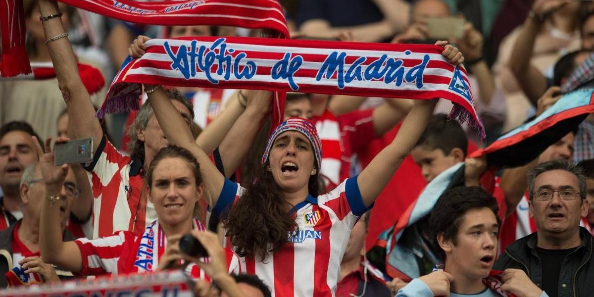 Atlético de Madrid estrena nuevo escudo