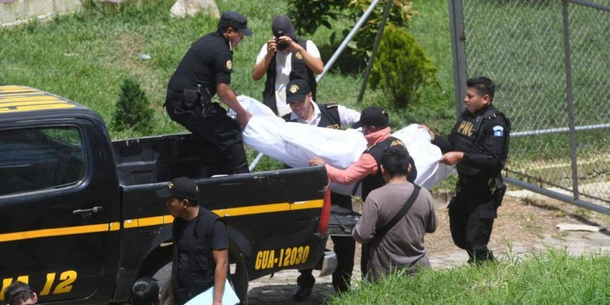 GALERÍA. Identifican a reos asesinados en el Preventivo de la zona 18