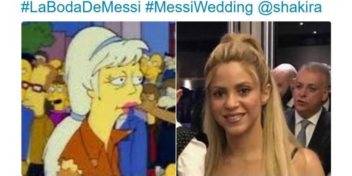 ¡No podían faltar! Los memes también la rompieron en la boda de Messi