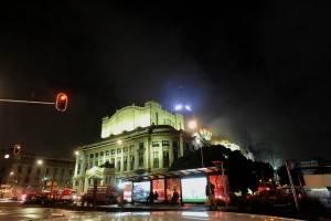 Conato de incendio en el Palacio de Bellas Artes