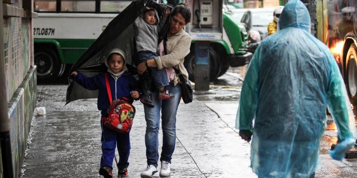 Persiste potencial de fuertes lluvias en el Valle de México