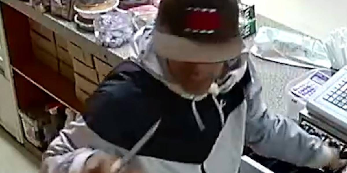 Piden ayuda para arrestar a hombre que robó panadería en Guánica