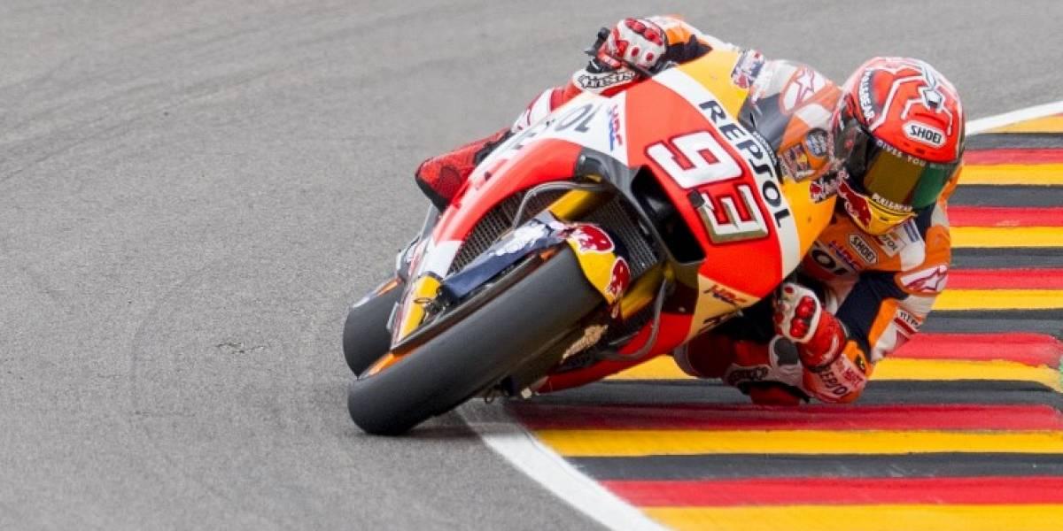 Marc Márquez se impuso sin apelaciones en el Moto GP de Alemania