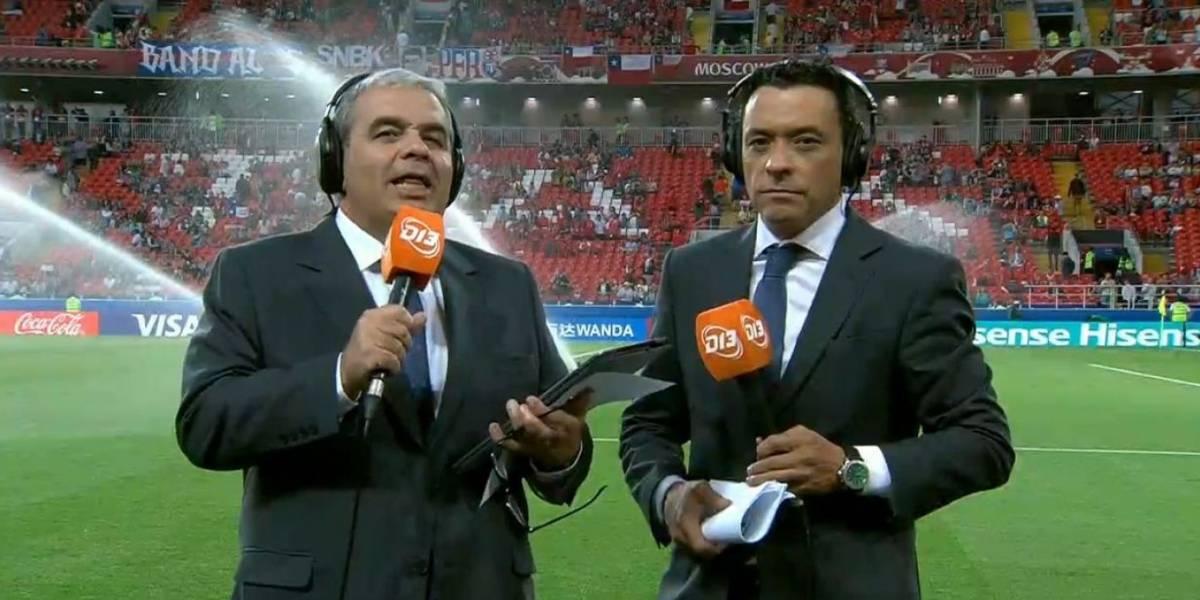 Canal 13 se coronó como el campeón del rating en esta Copa Confederaciones