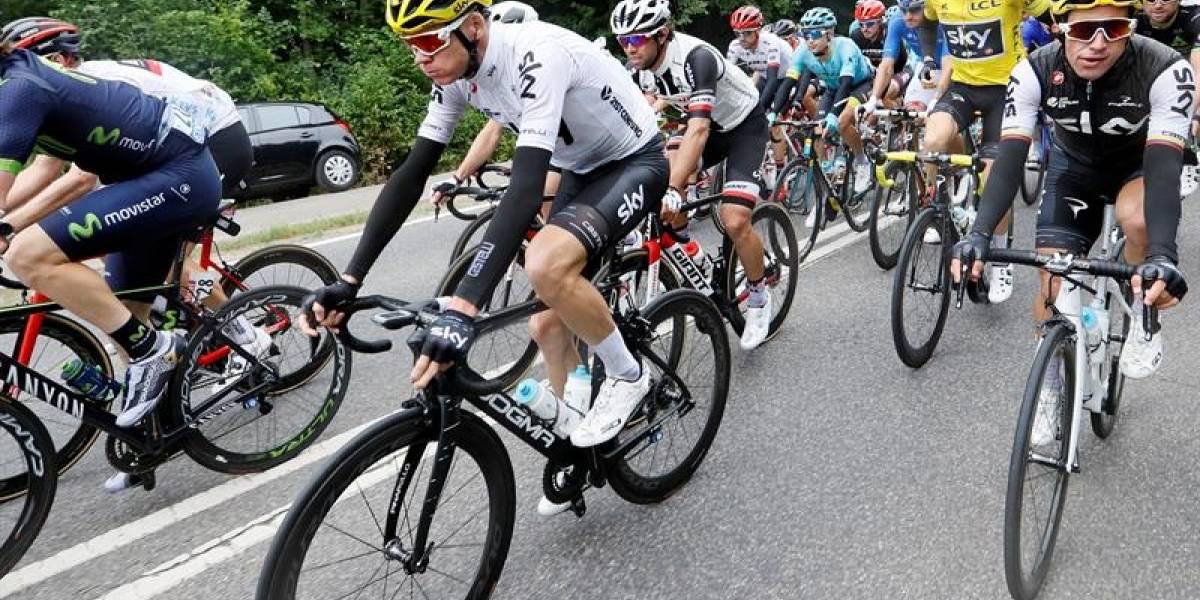 Tour de Francia: El favorito Froome sobrevive a caída en etapa ganada por el alemán Kittel
