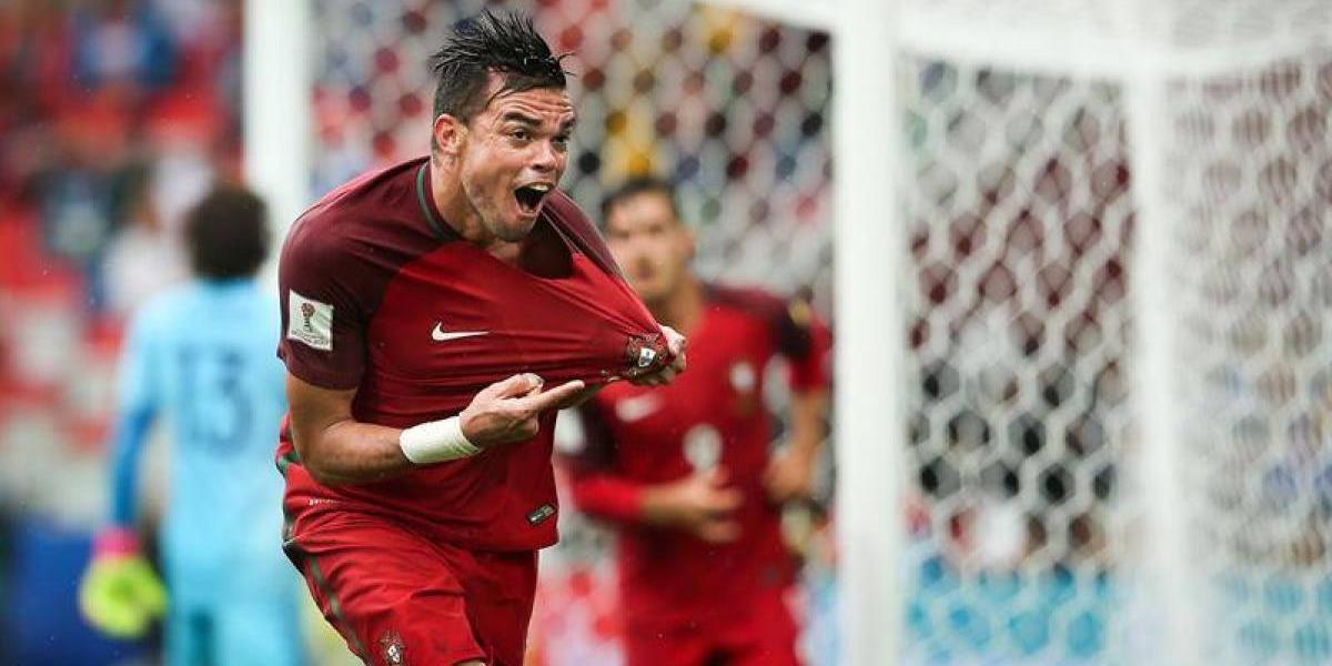 Portugal reaccionó sobre la hora y le arrebató el tercer lugar de la Copa Confederaciones a México