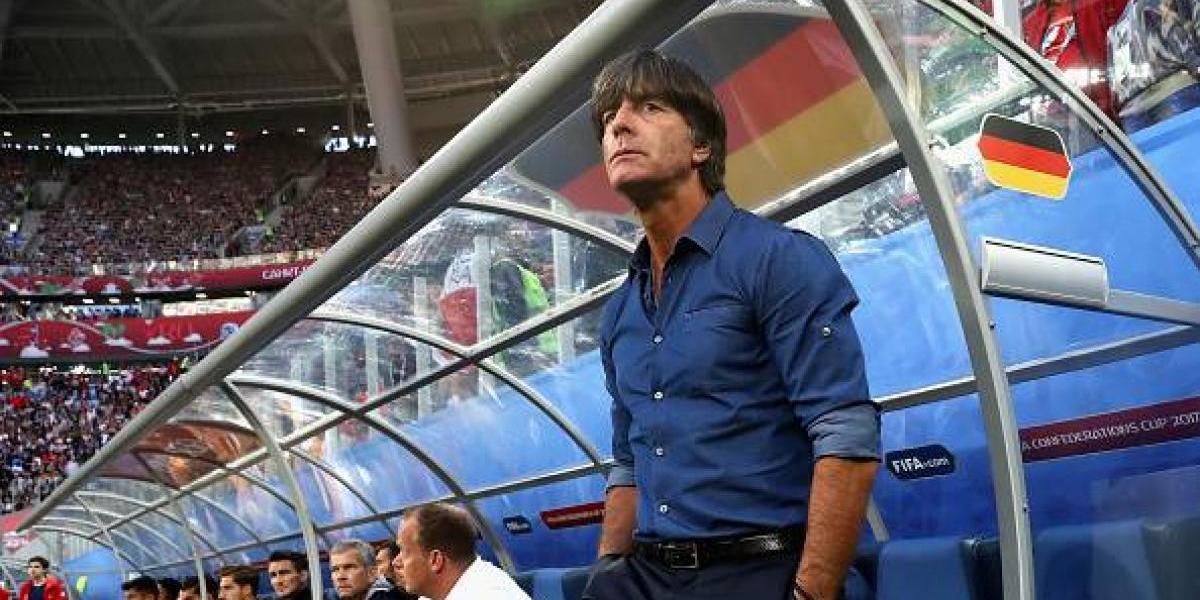 """Löw responde a dichos de Vidal: """"Alemania sigue siendo el mejor del mundo"""""""