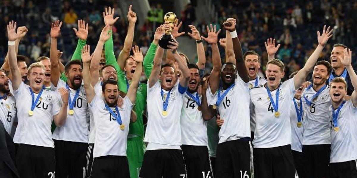 La joven Alemania se queda con el título de la Copa Confederaciones