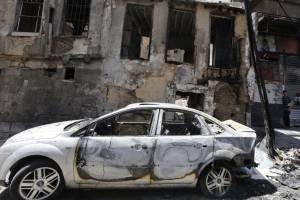 Atentado suicida en Damasco, julio 2017