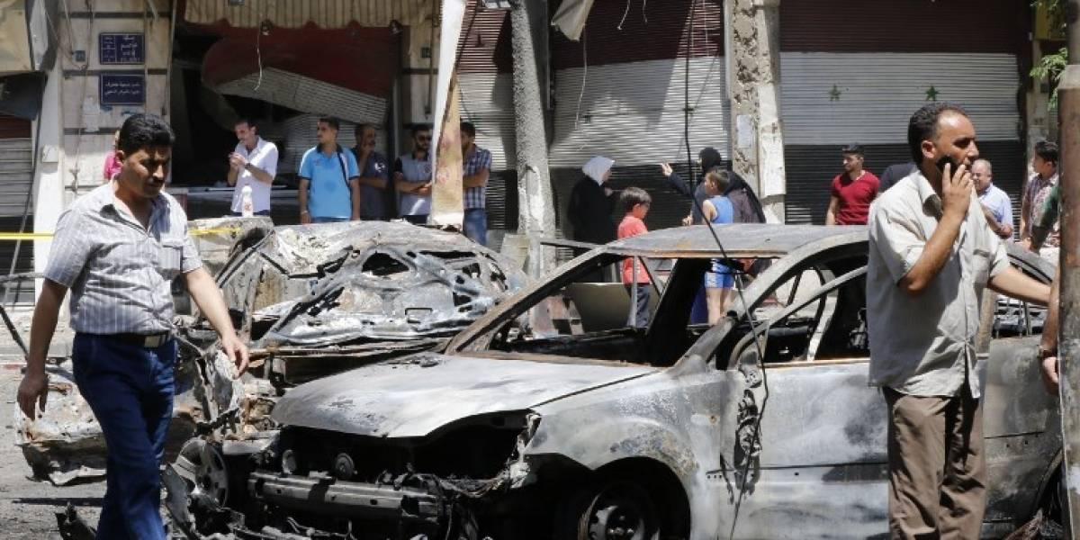EN IMÁGENES. Atentado suicida deja más de 15 muertos en Siria