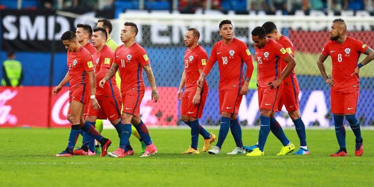 Uno a uno de Chile: mucha lucha y entrega, pero un error clave hundió a la Roja