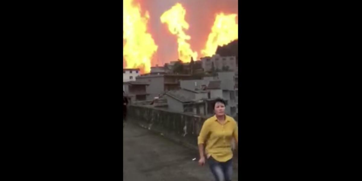 Al menos 8 muertos tras explosión de gasoducto en China