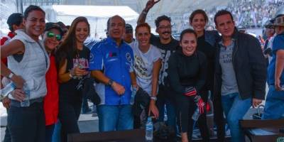 Calderón y otras celebridades