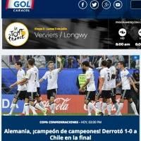 Gol Caracol de Colombia