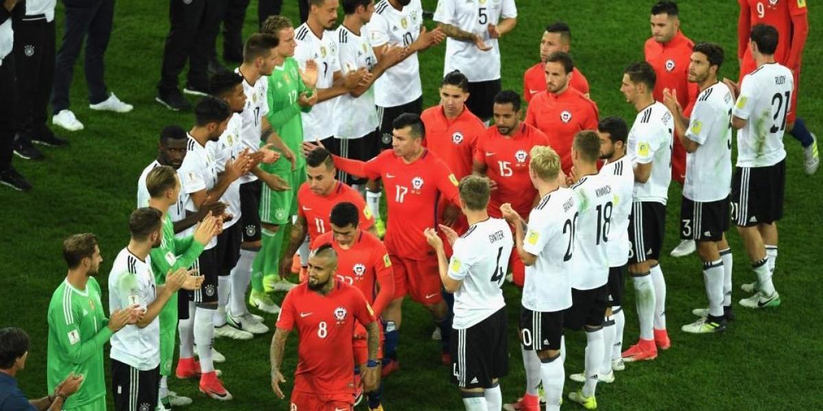 Caballerosidad alemana y felicitaciones: El juego de la Roja cautivó en la Confederaciones
