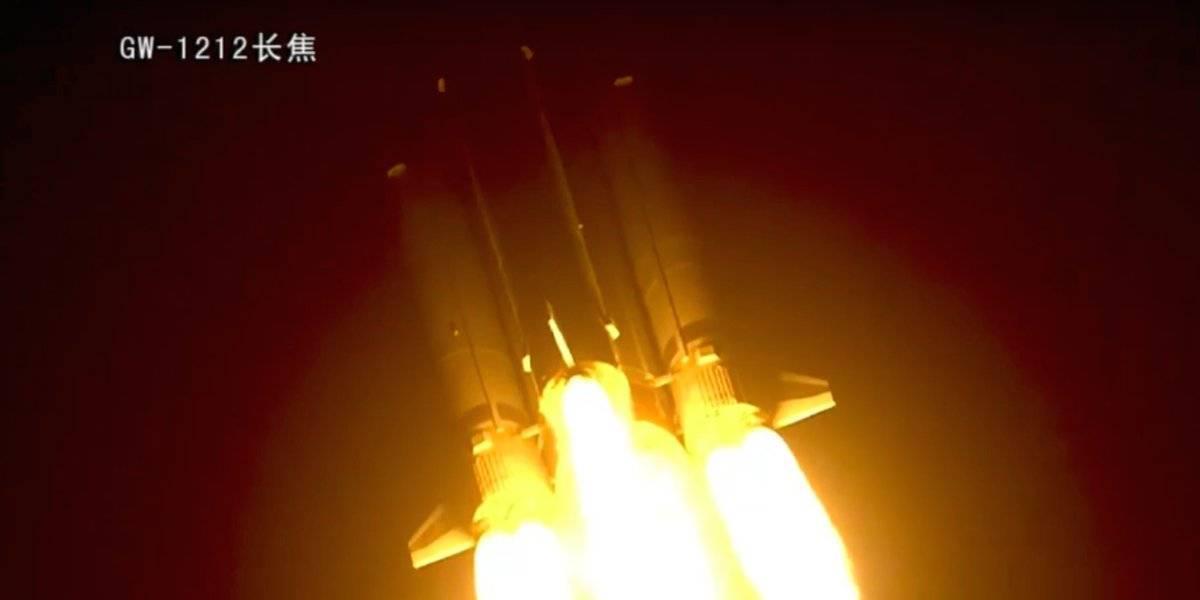 Fracasa cohete espacial chino que llevará una misión a la Luna