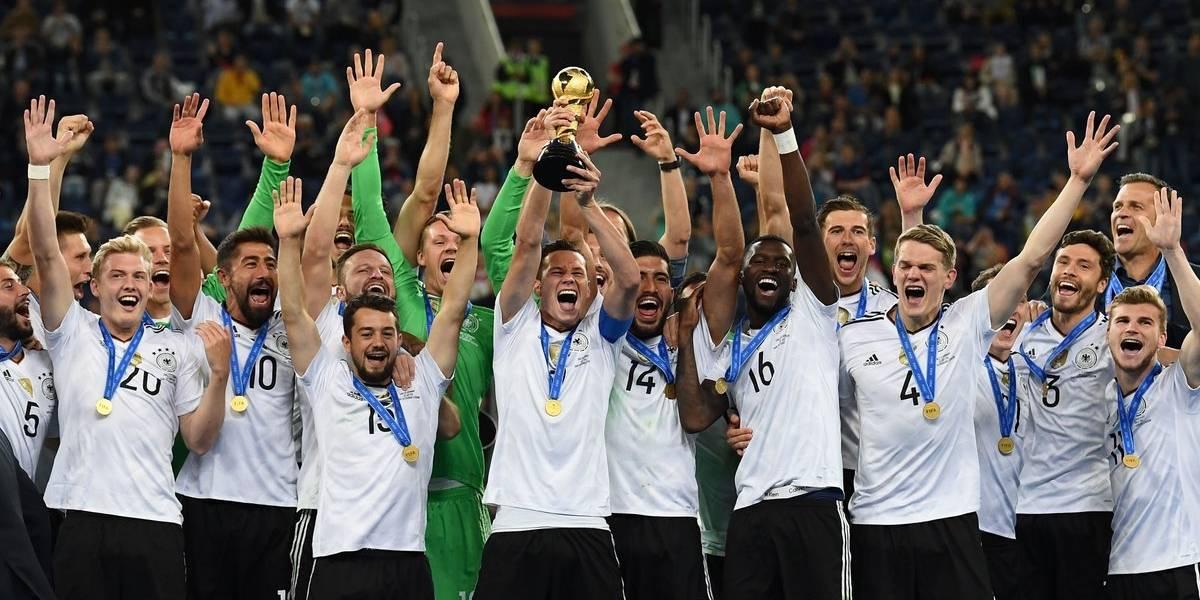 Alemania B se corona en la Confederaciones ante Chile