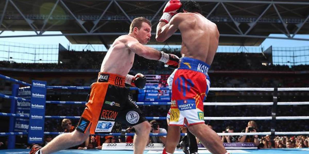 ¡Polémica! Jeff Horn vence a Manny Pacquiao y es el nuevo Campeón Welter