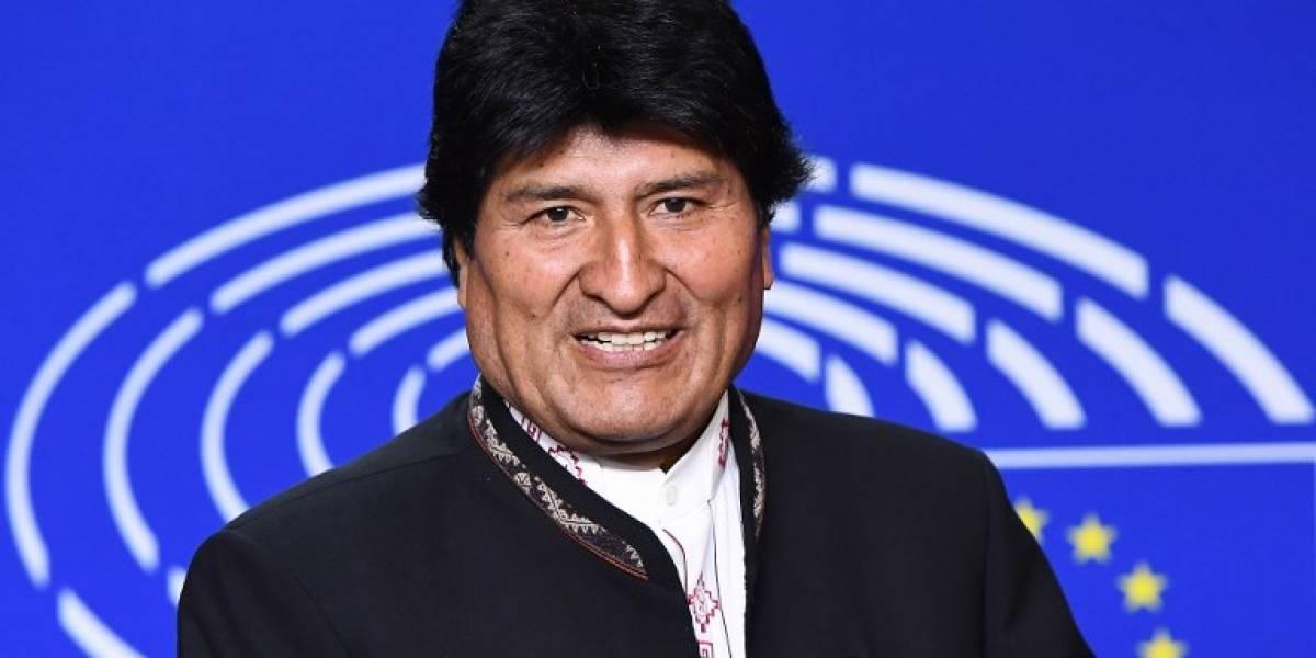 Evo Morales critica maniobras navales de Estados Unidos