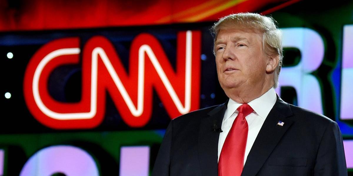 """Debería de ponerse a trabajar"": CNN responde a videomeme de Trump"