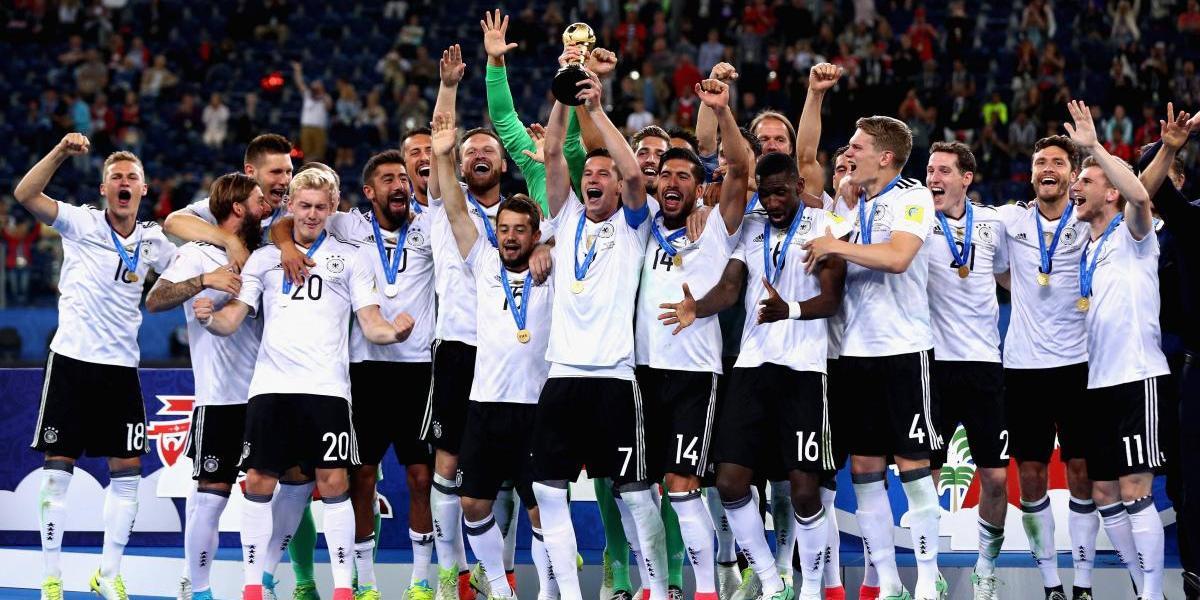 La joven Alemania se corona en Copa Confederaciones