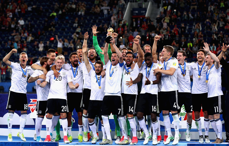 La escuadra teutona se coronó por primera vez en su historia en una Copa Confederaciones. / Getty Images