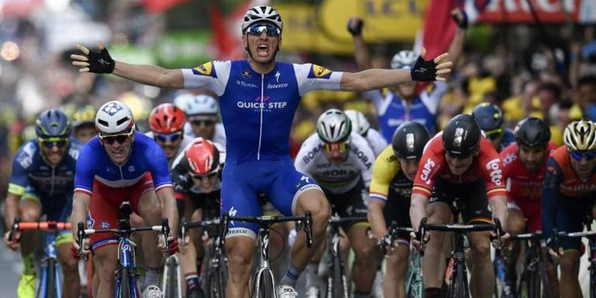 Kittel gana la segunda etapa y Thomas sigue líder en el Tour de Francia