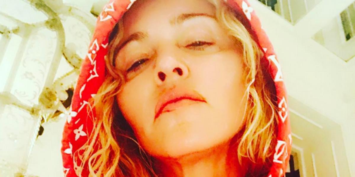 Madonna muestra su debilidad en las redes